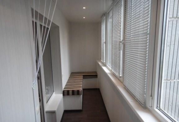 Профессиональная отделка балконов