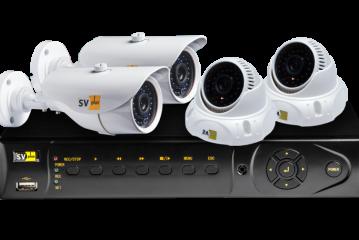 Выбор комплекта видеонаблюдения