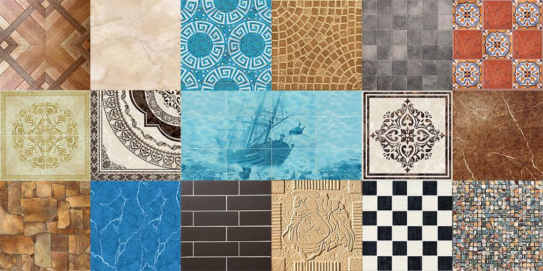 Керамическая плитка — прекрасный строительный материал