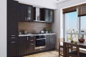 Мебель для кухни цвета венге: особенности подбора моделей для интерьера