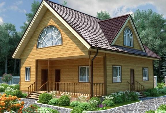 Дом из бруса с сауной