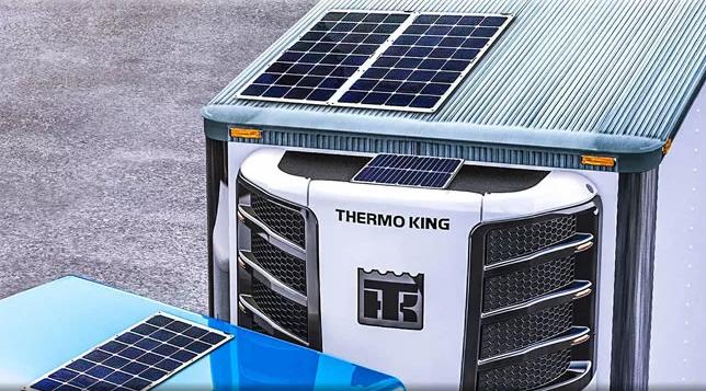 Солнечные панели от Thermo King для рефрижераторов: особенности