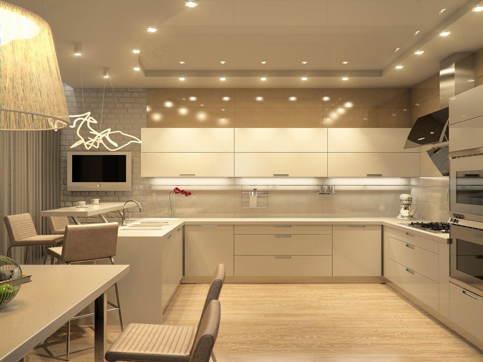 Особенности обустройства кухонного пространства
