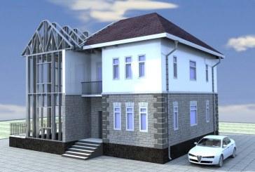 Загородный дом из ЛСТК