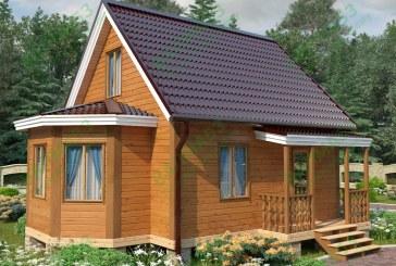 Проекты зимних домов из бруса под ключ