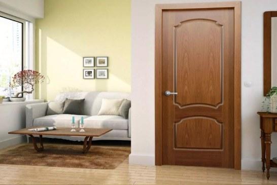 Двери, покрытые шпоном