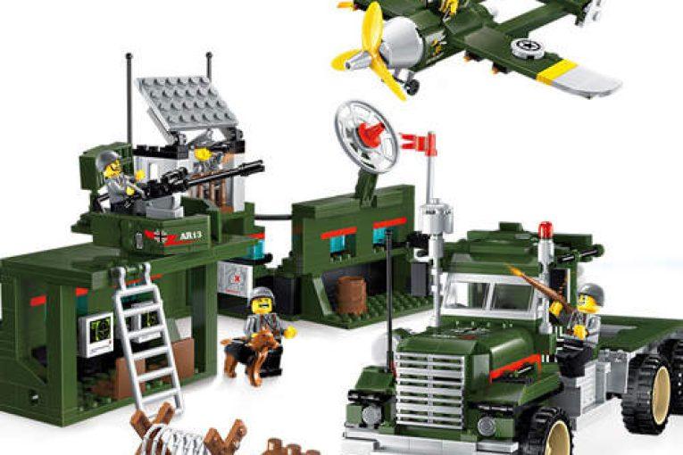 Военные наборы Лего — конструкторы с военной техникой