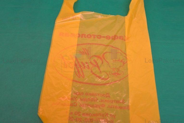 Нанесения печати на пакет-майку: преимущества