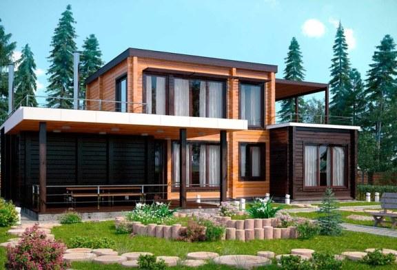 Дома в стиле «Лофт». Как выбрать материал для строительства дома?