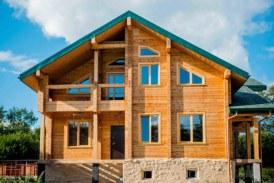 Использование профилированного бруса для строительства дома
