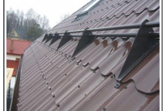Все о снегозадержателях для крыши