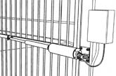 Монтаж автоматики для распашных ворот
